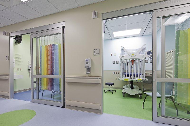 Helen DeVos Children\'s Hospital – Interphase Interiors