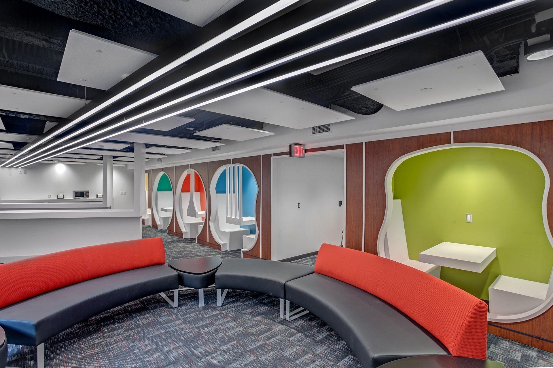 grand rapids community college music center interphase interiors. Black Bedroom Furniture Sets. Home Design Ideas