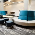 Grand Rapids Public School Common Area Furniture bu Interphase Interiors